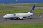 ちゃぽんさんが、中部国際空港で撮影したユナイテッド航空 737-824の航空フォト(写真)