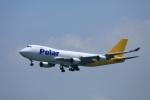 garrettさんが、香港国際空港で撮影したポーラーエアカーゴ 747-45EF/SCDの航空フォト(写真)
