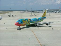 kumagoroAIRLINEさんが、中部国際空港で撮影した全日空 747-481(D)の航空フォト(飛行機 写真・画像)