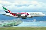 JRF spotterさんが、関西国際空港で撮影したエミレーツ航空 A380-861の航空フォト(写真)