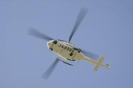 デルさんが、札幌飛行場で撮影した北海道防災航空隊 412の航空フォト(飛行機 写真・画像)