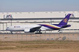 panchiさんが、成田国際空港で撮影したタイ国際航空 777-2D7の航空フォト(飛行機 写真・画像)