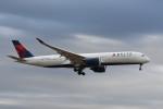 kuro2059さんが、成田国際空港で撮影したデルタ航空 A350-941XWBの航空フォト(写真)
