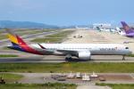 セブンさんが、関西国際空港で撮影したアシアナ航空 A350-941の航空フォト(飛行機 写真・画像)