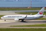 セブンさんが、関西国際空港で撮影した日本トランスオーシャン航空 737-8Q3の航空フォト(飛行機 写真・画像)