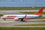 セブンさんが、関西国際空港で撮影したチェジュ航空 737-8K5の航空フォト(飛行機 写真・画像)