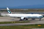 セブンさんが、関西国際空港で撮影したキャセイパシフィック航空 777-367の航空フォト(飛行機 写真・画像)