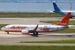 セブンさんが、関西国際空港で撮影したチェジュ航空 737-8ASの航空フォト(飛行機 写真・画像)