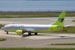 セブンさんが、関西国際空港で撮影したジンエアー 737-86Nの航空フォト(飛行機 写真・画像)