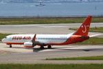 セブンさんが、関西国際空港で撮影したチェジュ航空 737-86Qの航空フォト(飛行機 写真・画像)