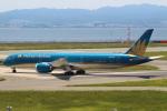 セブンさんが、関西国際空港で撮影したベトナム航空 787-9の航空フォト(飛行機 写真・画像)