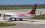 セブンさんが、関西国際空港で撮影したティーウェイ航空 737-8Q8の航空フォト(飛行機 写真・画像)