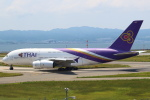 セブンさんが、関西国際空港で撮影したタイ国際航空 A380-841の航空フォト(飛行機 写真・画像)