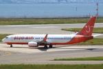 セブンさんが、関西国際空港で撮影したチェジュ航空 737-8BKの航空フォト(飛行機 写真・画像)