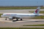 セブンさんが、関西国際空港で撮影した中国東方航空 A320-214の航空フォト(飛行機 写真・画像)