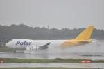 MKGさんが、成田国際空港で撮影したポーラーエアカーゴ 747-46NF/SCDの航空フォト(写真)