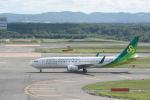 どんちんさんが、新千歳空港で撮影した春秋航空日本 737-81Dの航空フォト(写真)