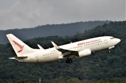 amagoさんが、チェンマイ国際空港で撮影した瑞麗航空 737-7MEの航空フォト(飛行機 写真・画像)