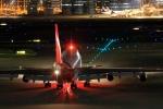 門ミフさんが、羽田空港で撮影したカンタス航空 747-438の航空フォト(写真)