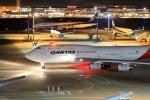 門ミフさんが、羽田空港で撮影したカンタス航空 747-438の航空フォト(飛行機 写真・画像)