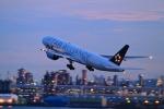 門ミフさんが、羽田空港で撮影した全日空 777-281の航空フォト(写真)