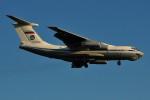 ぼんやりしまちゃんさんが、ブヌコボ国際空港で撮影したロシア空軍 Il-76MDの航空フォト(写真)