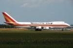 tassさんが、成田国際空港で撮影したカリッタ エア 747-2B4BM(SF)の航空フォト(飛行機 写真・画像)
