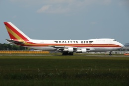 tassさんが、成田国際空港で撮影したカリッタ エア 747-2B4BM(SF)の航空フォト(写真)