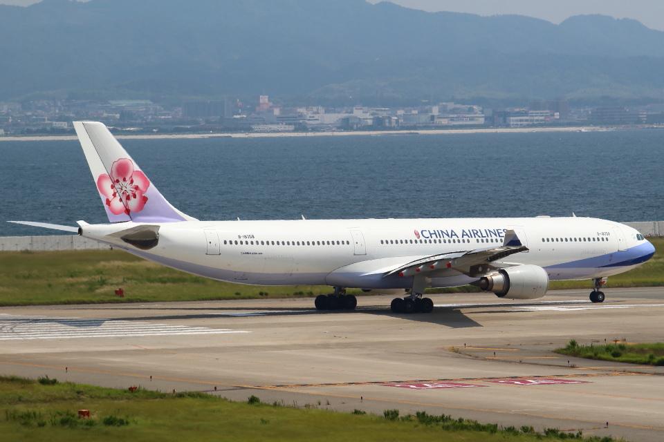 セブンさんのチャイナエアライン Airbus A330-300 (B-18358) 航空フォト