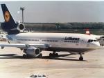 twinengineさんが、フランクフルト国際空港で撮影したルフトハンザドイツ航空 DC-10-30の航空フォト(飛行機 写真・画像)