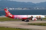 セブンさんが、関西国際空港で撮影したタイ・エアアジア・エックス A330-343Xの航空フォト(飛行機 写真・画像)
