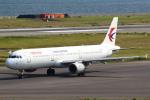 セブンさんが、関西国際空港で撮影した中国東方航空 A321-211の航空フォト(飛行機 写真・画像)