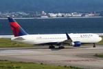 セブンさんが、関西国際空港で撮影したデルタ航空 767-332/ERの航空フォト(飛行機 写真・画像)