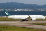 セブンさんが、関西国際空港で撮影したキャセイパシフィック航空 A350-1041の航空フォト(飛行機 写真・画像)