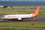 セブンさんが、関西国際空港で撮影したチェジュ航空 737-8GJの航空フォト(飛行機 写真・画像)