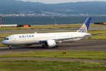 セブンさんが、関西国際空港で撮影したユナイテッド航空 787-9の航空フォト(写真)
