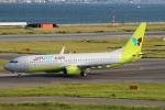 セブンさんが、関西国際空港で撮影したジンエアー 737-8Q8の航空フォト(飛行機 写真・画像)