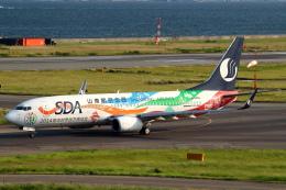 セブンさんが、関西国際空港で撮影した山東航空 737-89Lの航空フォト(飛行機 写真・画像)