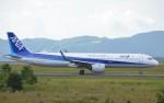 鉄バスさんが、広島空港で撮影した全日空 A321-272Nの航空フォト(写真)