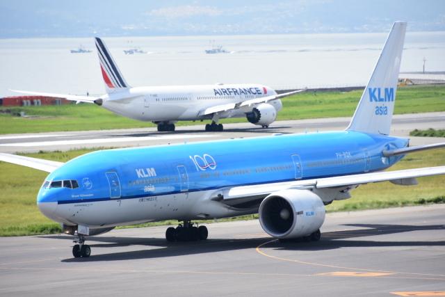 KLMオランダ航空 機材一覧  Boeing 777-200機材