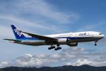 セブンさんが、伊丹空港で撮影した全日空 777-281/ERの航空フォト(写真)