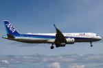 セブンさんが、伊丹空港で撮影した全日空 A321-272Nの航空フォト(写真)