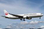 セブンさんが、伊丹空港で撮影した日本航空 767-346/ERの航空フォト(写真)