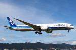 セブンさんが、伊丹空港で撮影した全日空 787-9の航空フォト(写真)