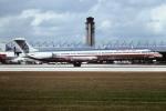 tassさんが、マイアミ国際空港で撮影したアメリカン航空 MD-82 (DC-9-82)の航空フォト(写真)