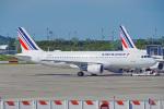 ちゃぽんさんが、パリ シャルル・ド・ゴール国際空港で撮影したエールフランス航空 A320-214の航空フォト(写真)