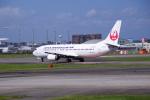 アングリー J バードさんが、福岡空港で撮影した日本トランスオーシャン航空 737-446の航空フォト(写真)