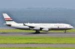 SKY TEAM B-6053さんが、羽田空港で撮影したエジプト政府 A340-211の航空フォト(写真)