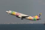 やつはしさんが、羽田空港で撮影したスカイネットアジア航空 737-46Qの航空フォト(写真)