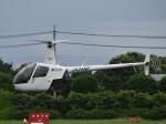 とびたさんが、栃木ヘリポートで撮影した日本フライトセーフティ R22 Betaの航空フォト(写真)